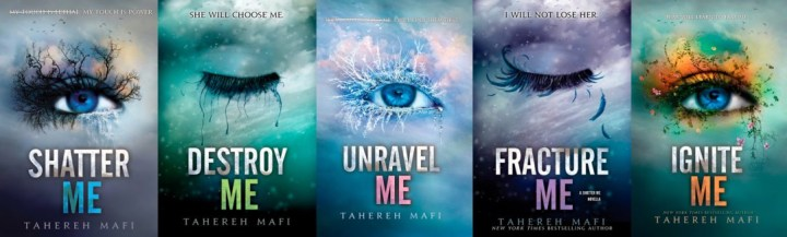 Recap/Thoughts: Shatter Me Series