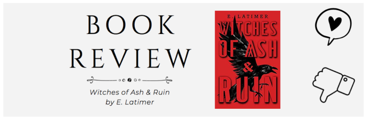ARC Review | Witches of Ash & Ruin