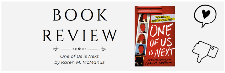 Review | One of Us is Next (One of Us is Lying #2)