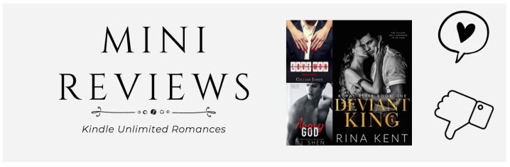 Mini Reviews: Kindle Unlimited Romances