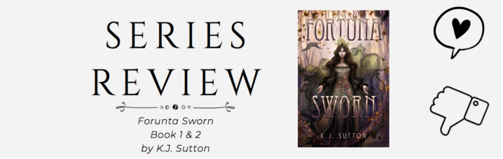 Series Review: Fortuna Sworn & RestlessSlumber